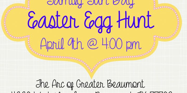The Arc Family Fun Day Easter Egg Hunt
