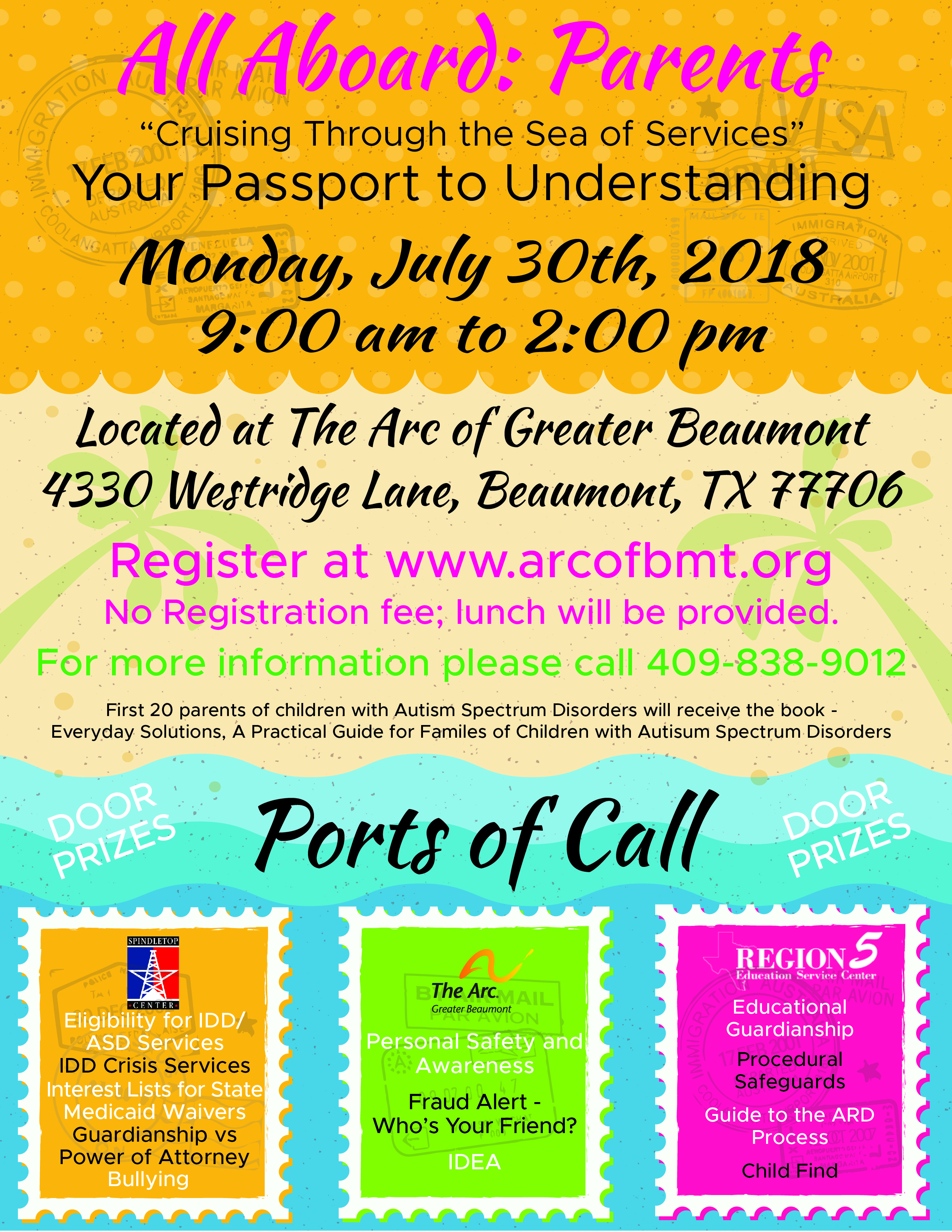 SETX Special Education Parents Seminar @ The Arc of Greater Beaumont | Beaumont | Texas | United States