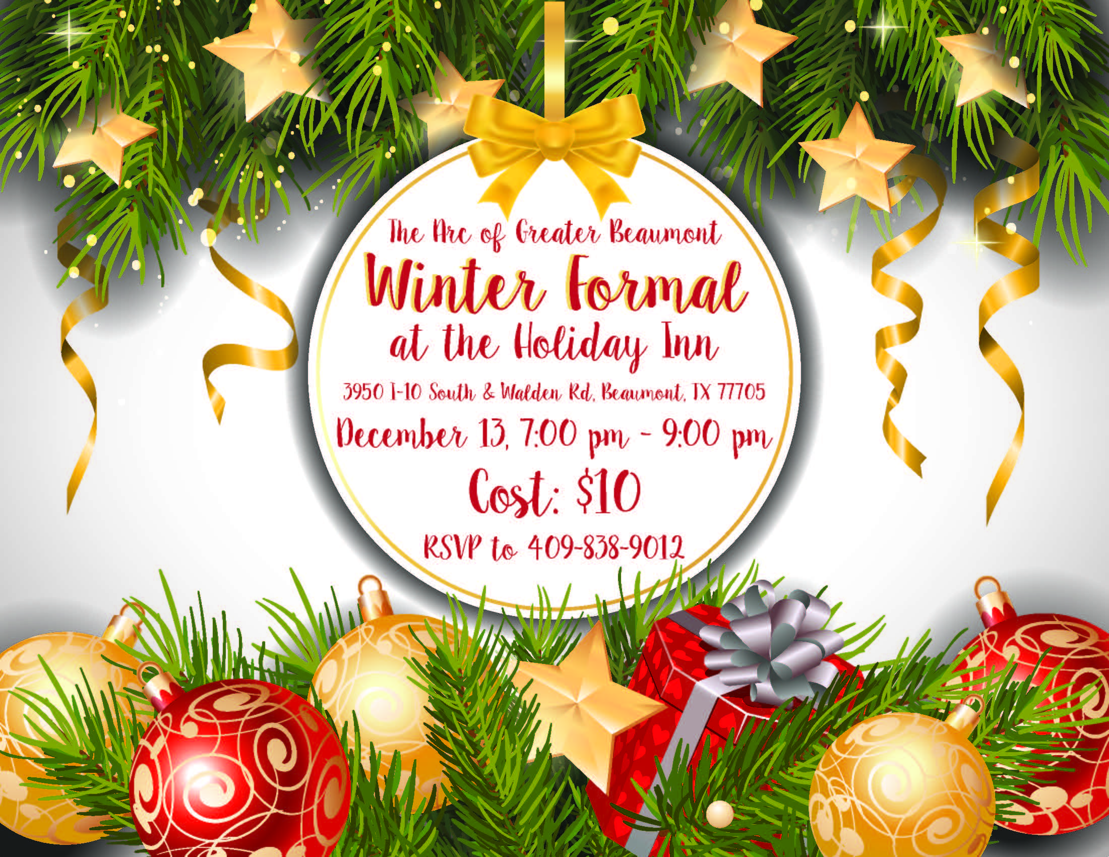 The Arc Winter Formal-December 13th @ Holiday Inn & Suites Beaumont Plaza | Beaumont | Texas | United States